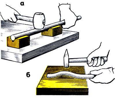 Что такое правка металла слесарное дело